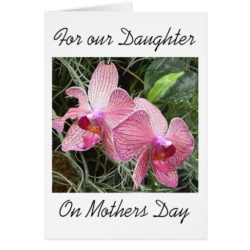 Daughter Mothers Day Card