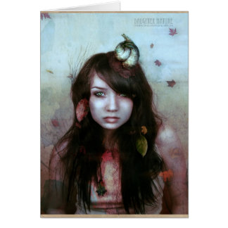 daughter nature card