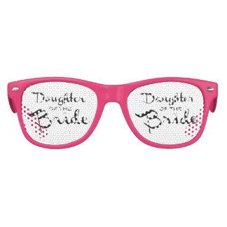 Daughter of Bride Black On White Sunglasses