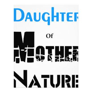 Daughter Of Mother Nature Custom Letterhead