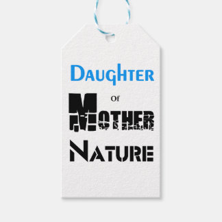 Daughter Of Mother Nature Gift Tags