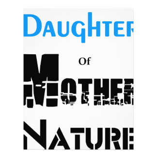 Daughter Of Mother Nature Letterhead
