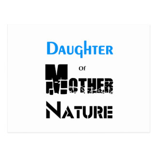 Daughter Of Mother Nature Postcard