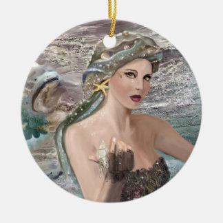 Daughter of Oceanus Ceramic Ornament