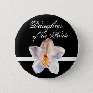 Daughter Of The Bride Wedding ID Bride 2 Inch Round Button
