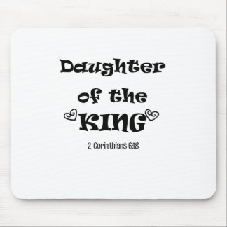 Daughter of the King Mouse Pad