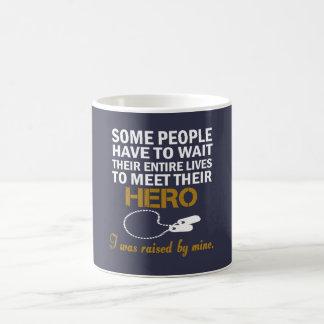 Daughter of veteran coffee mug