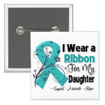 Daughter - Ovarian Cancer Ribbon Pin