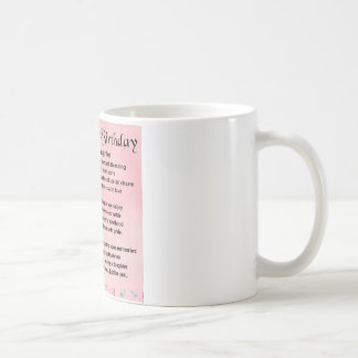 Daughter Poem 21st Birthday Coffee Mug