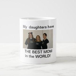 daughters best mom large coffee mug