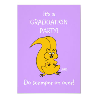 Daughters Graduation Party Funny Invitation