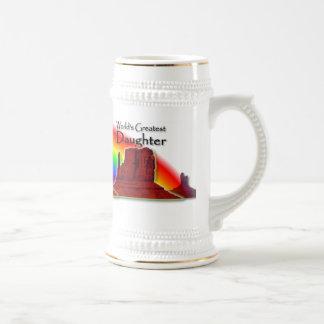 Daughter's Loving Hands Rainbow Stein Beer Steins