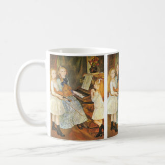 Daughters of Catulle Mendes by Pierre Renoir Coffee Mug