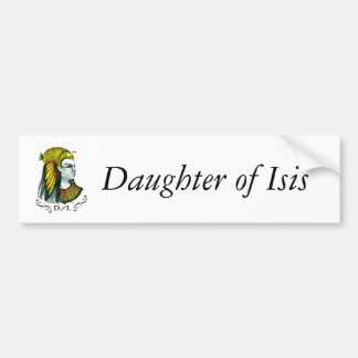 Daughters of Isis Bumper Sticker by PG Mills