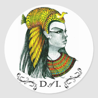 Daughters of Isis Stickers by PG Mills