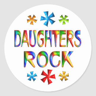 DAUGHTERS ROCK STICKERS