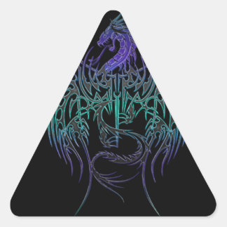 Daughters seal triangle stickers