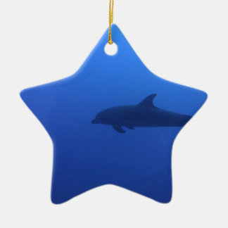 Dauphin Dolphin Customizable Ceramic Ornament