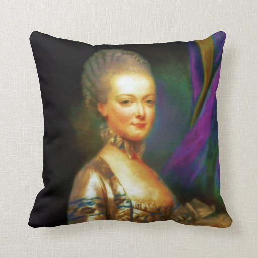 Dauphin French Chic Baroque Throw Pillow
