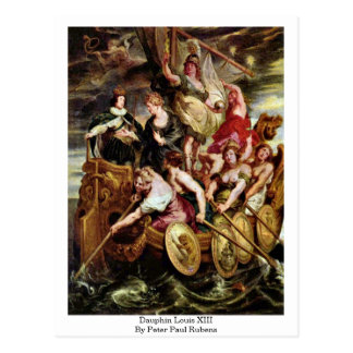 Dauphin Louis Xiii By Peter Paul Rubens Postcards