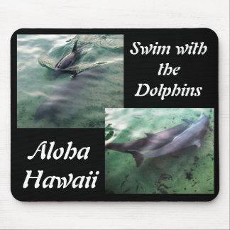 Dauphins d'Hawaï Tapis De Souris