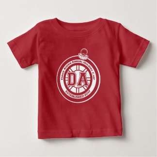 Dave Ahern Annual Holiday Cup Baby Tee Red