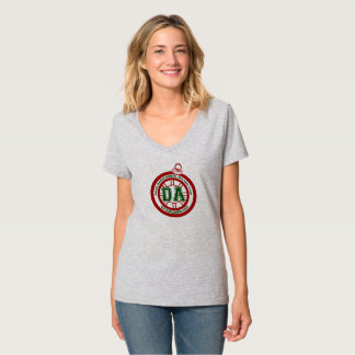 Dave Ahern Annual Holiday Cup Tee Women's Grey V