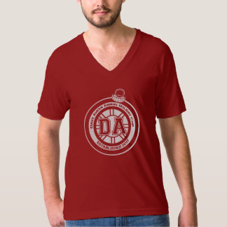 Dave Ahern Annual Holiday Cup V Tee Dk Red