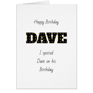 Dave Card