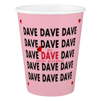 Dave Paper Cup