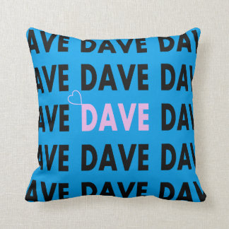 Dave Throw Pillow