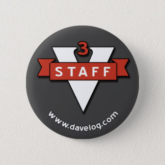 davelog staff badge 2 inch round button