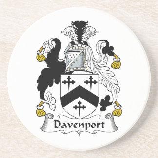 Davenport Family Crest Coaster