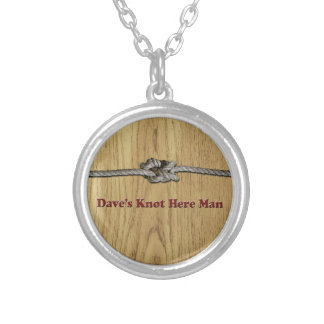 Dave's Knot Here Man - Multi-Products Silver Plated Necklace