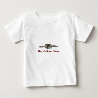 Dave's Knot Here SHORT - Multi-Products Baby T-Shirt