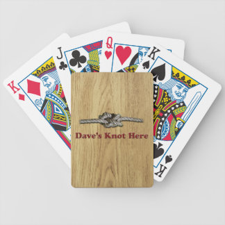 Dave's Knot Here SHORT - Multi-Products Bicycle Playing Cards