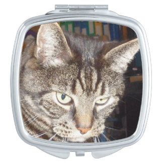 Dave's Watching You Square Compact Mirror