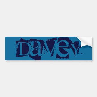 Davey Bumper Sticker