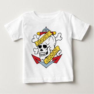 Davey Jones Tattoo T-shirts