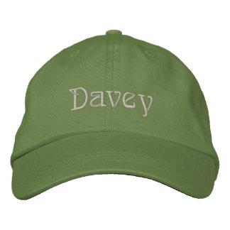 DAVEY Name Designer Cap