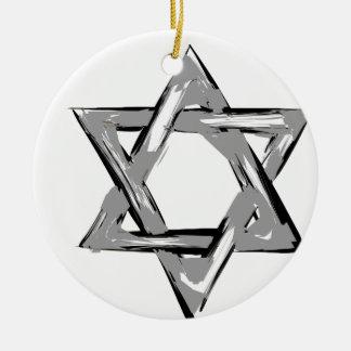 david2 ceramic ornament