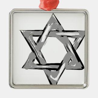 david2 metal ornament