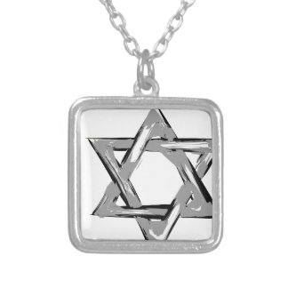 david2 silver plated necklace