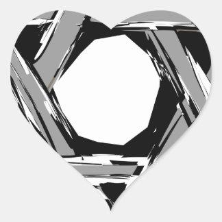 david3 heart sticker
