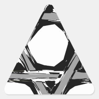 david3 triangle sticker