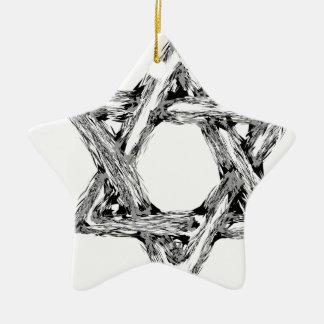 david4 ceramic ornament