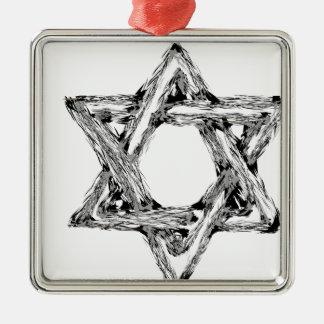 david4 metal ornament