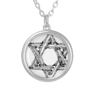 david4 silver plated necklace