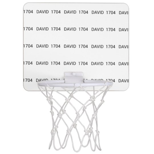 David 1704 range mini basketball hoop
