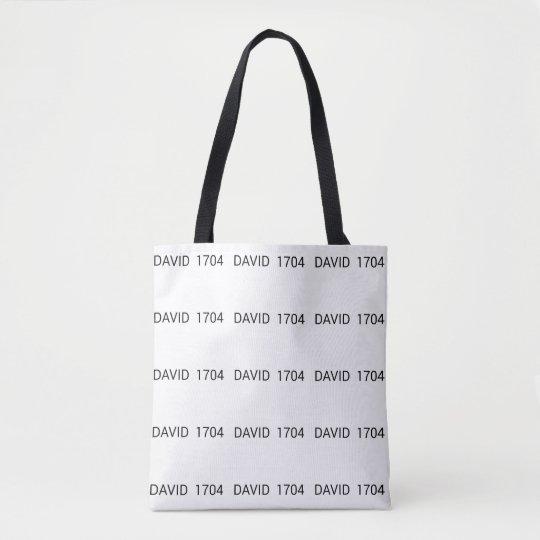 David 1704 range tote bag
